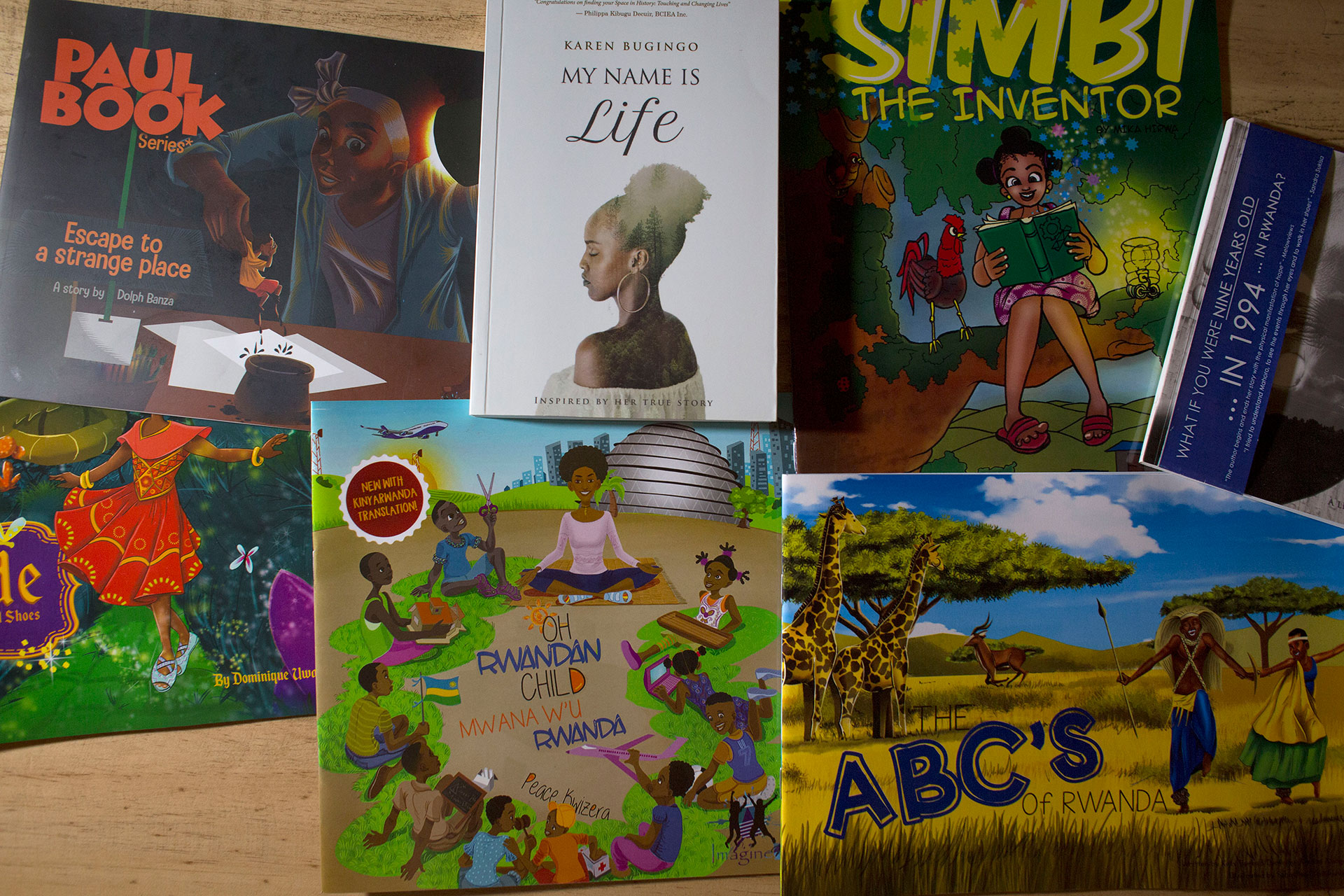 Some of the books published by Imagine We.