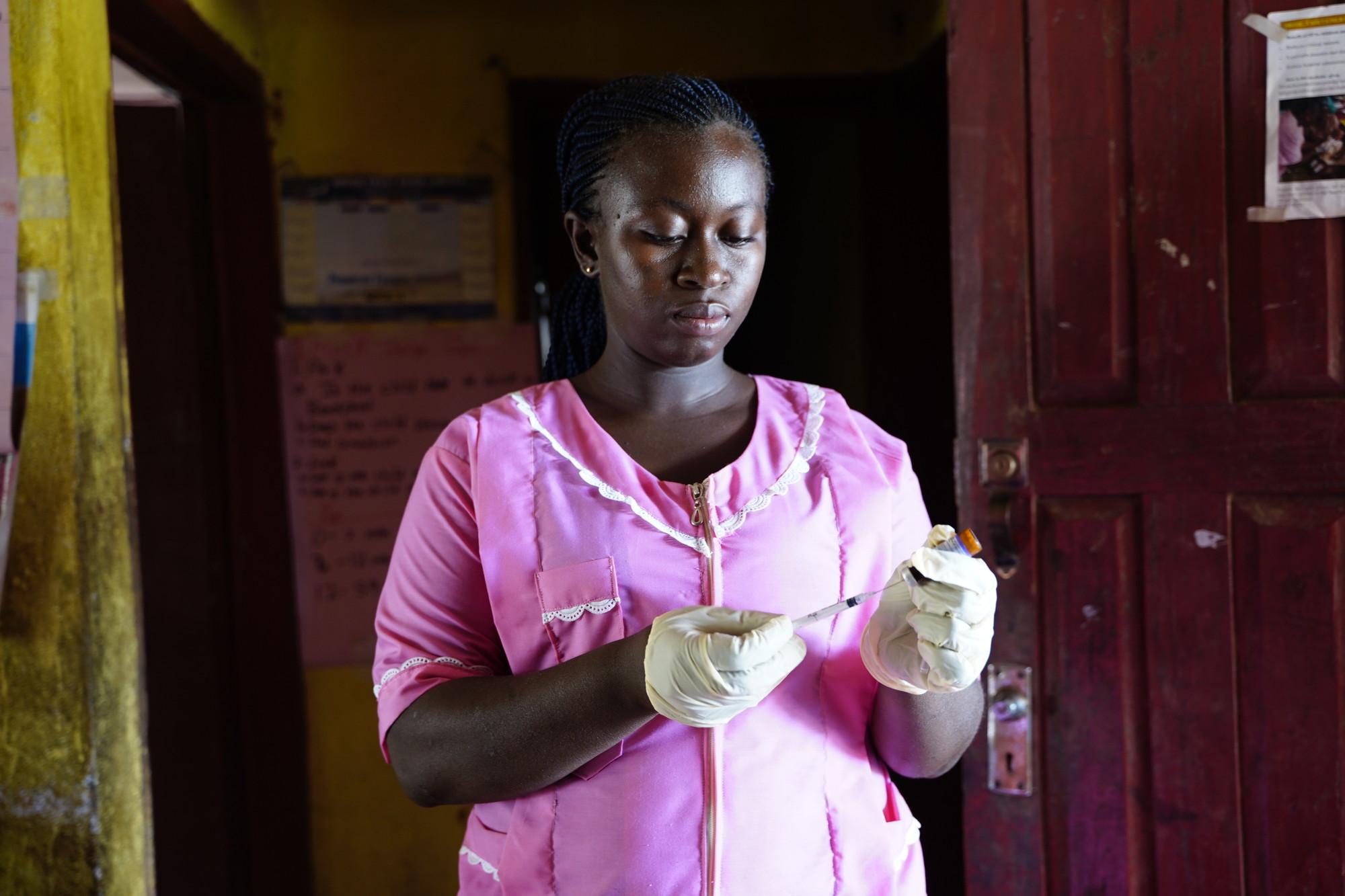 Todas as fotos: Shantelle Spencer / CARE Serra Leoa