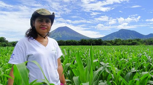 Women are at the heart of many farming communities and are a vital link between farms and families. Yet they often lack access to adequate land, financial support and education. CREDIT: CARE
