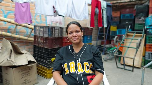 GénesisGonzales is one of the 3.7 million peoplewhohave fled Venezueladue to instability, hunger and poverty. Photo: Josh Estey/CARE