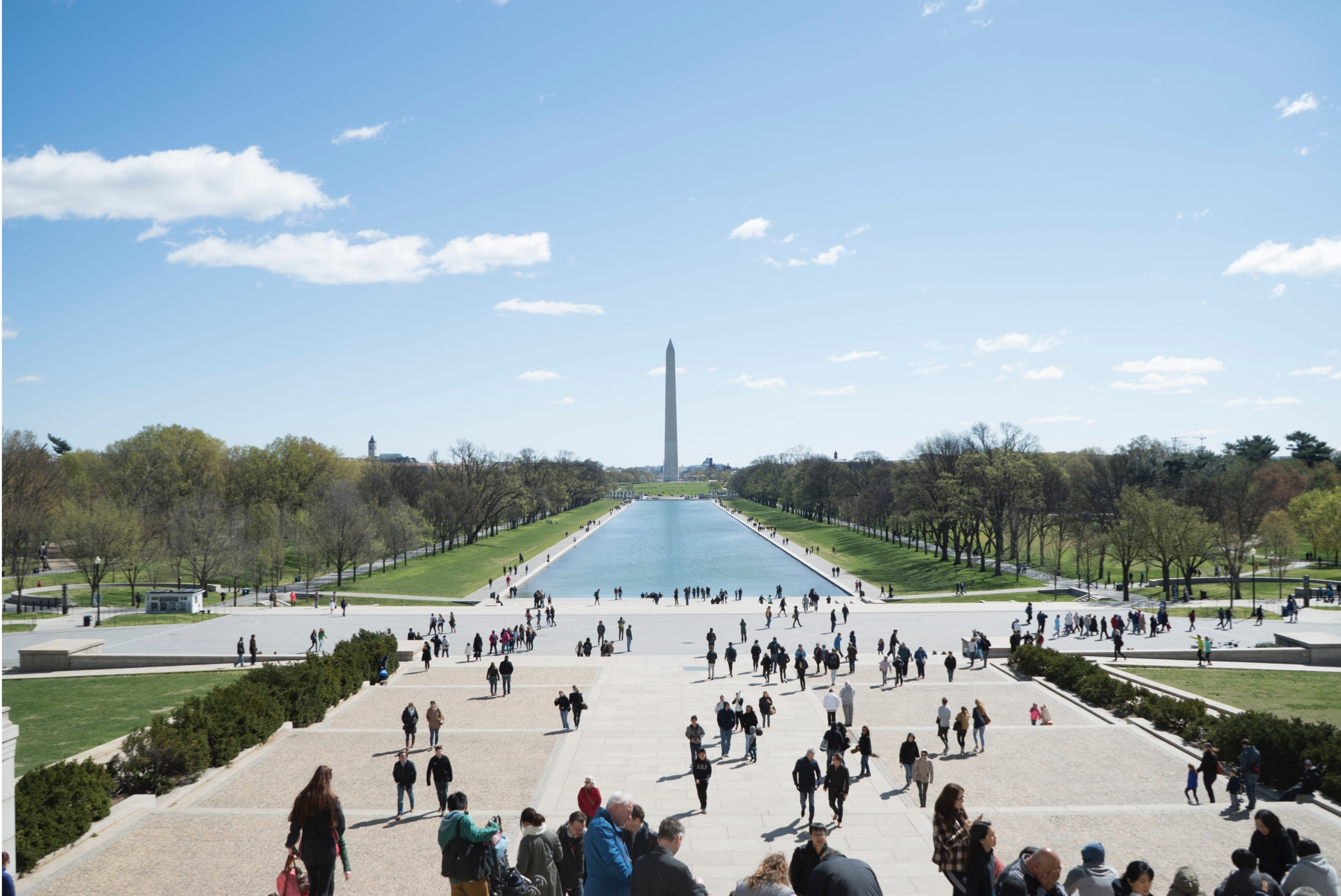 Vista del Monumento a Washington y el National Mall
