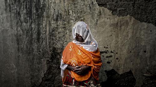 Gender-based violence survivor attacked by Boko Haram in Nigeria. Photo: Josh Estey/CARE