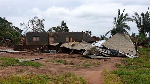 Damage from Cyclone Kenneth in Mozambique. Last week, the southern African country was struck by Kenneth, a Category 4 storm described as one of the strongest cyclones to hit Africa since modern record-keeping began. It came barely a month after Cyclone Idai killed more than 1,000 people across Zimbabwe, Malawi and Mozambique. Credit: CARE