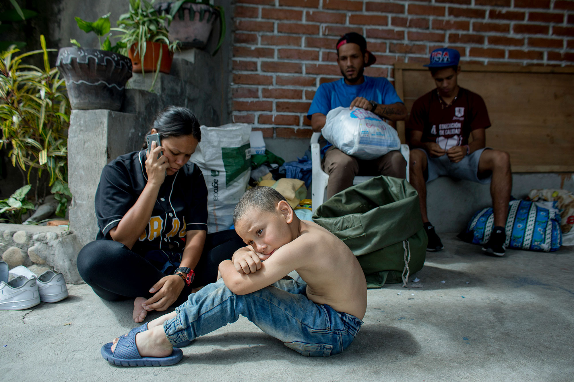Génesis and her son are among the 4.6 million who have fled Venezuela due to instability, hunger and poverty. All photos: Josh Estey/CARE
