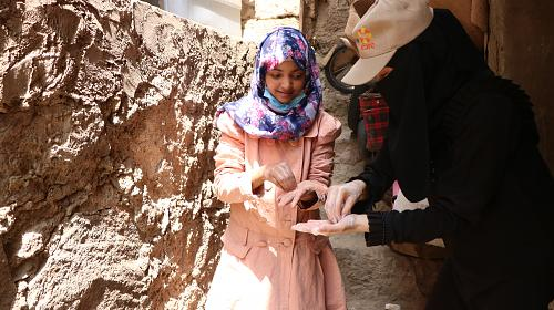 Cholera andCOVID19 prevention and safe hygiene promotion awarenessinTaiz, Yemen.