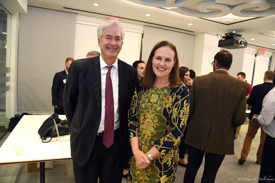 Ambassador William Burns and former Under Secretary of Defense Michéle Flournoy.