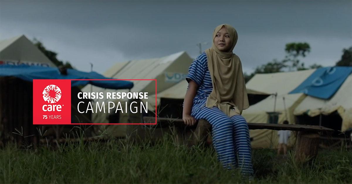 CARE Crisis Response Campaign video thumbnail