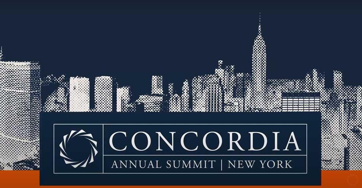 Aperçu de l'image pour le panel du Sommet annuel de Concordia à New York.